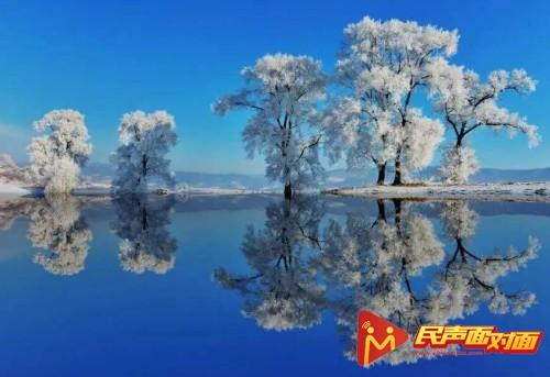 吉林长春:森林之都化身冰晶城堡