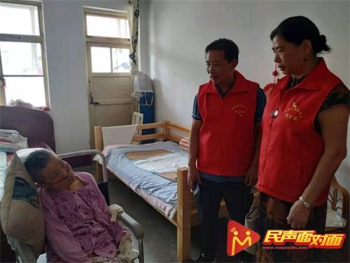 潍坊市浙商联合会党支部走访慰问老党员